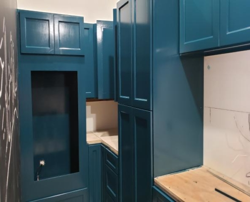 Cabinets and Kitchen Finishes